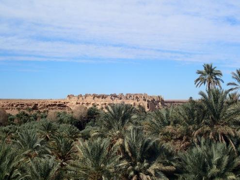 Die Kasbar von Meski, ein altes Fort der Fremdenlegion